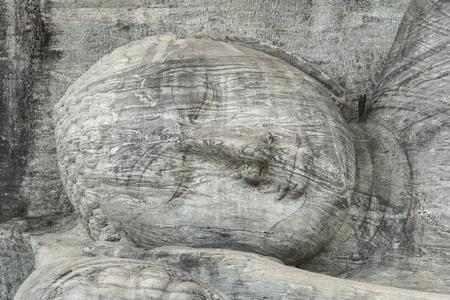 buddha at Gal Vihara, Sri Lanka Stock Photo