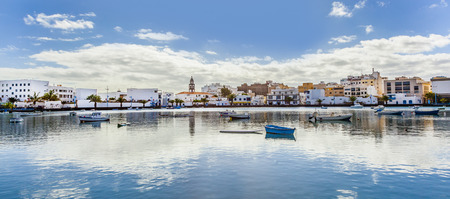 Charco de San Gines in Arrecife, Lanzarote Banque d'images
