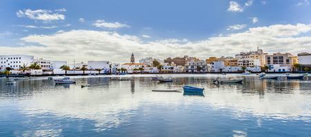 Charco de San Gines in Arrecife, Lanzarote 版權商用圖片