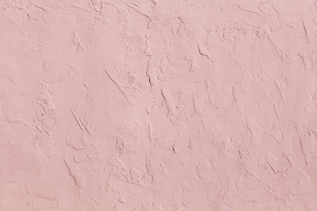 pink structured plaster wall as harmonic background Stock Photo