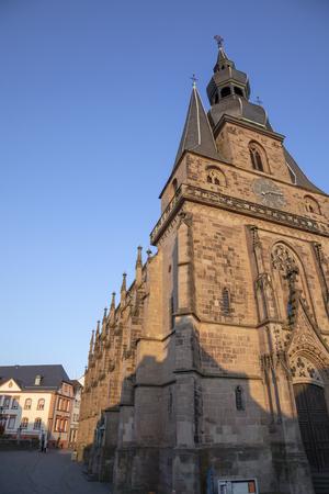 famous sankt Wendelin church in Sankt Wendel
