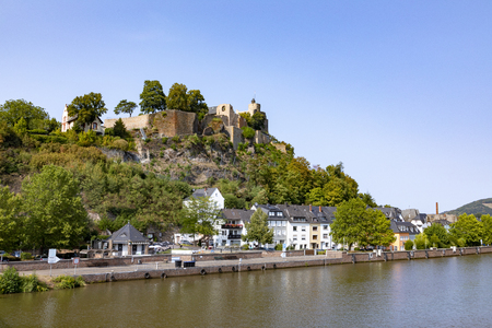 historic castle of Saarburg in the Saarland, Germany