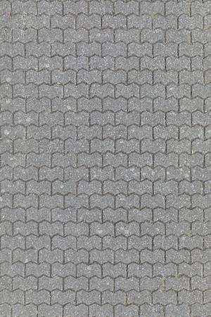 detail of pedestrian walking path