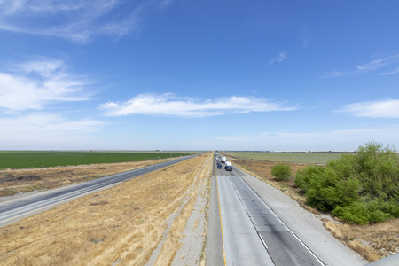 view to highway no 101 in California
