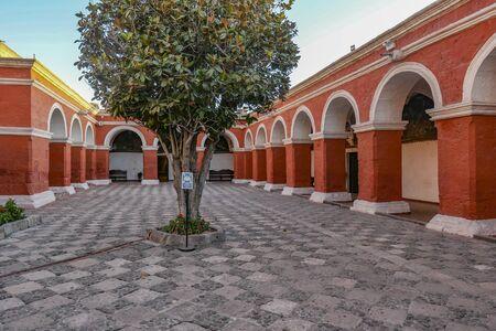 catholic Santa Catalina Monastery in Arequipa Peru 写真素材