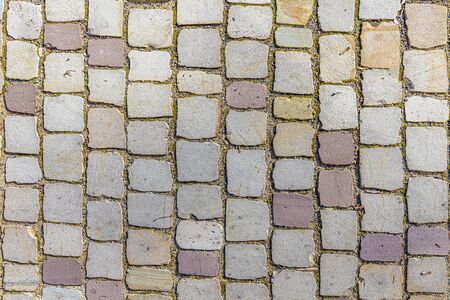 detail of cobble stones as harmonic background