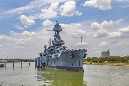 The Famous Dreadnought Battleship in Texas