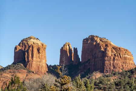 scenic red rocks at the red rock state park in Arizona