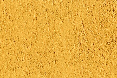 harmonic background of orange painted plaster wallh Stock Photo