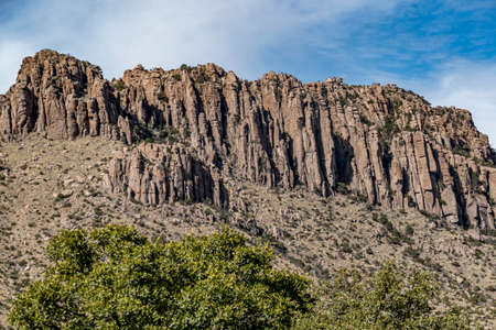 scenic rocks in Chiricahua National Park, Arizona, USA