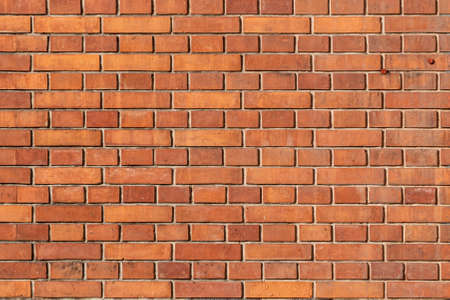 pattern of old historic brick wall in bright color Stock Photo
