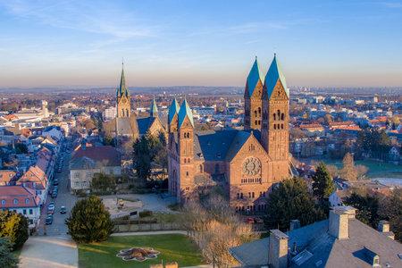 Erloserkirche church o in Bad Homburg, Germany