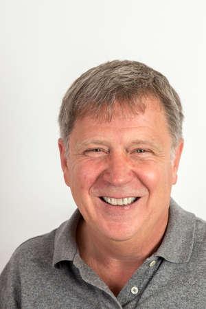 portrait of handsome man in studio Reklamní fotografie