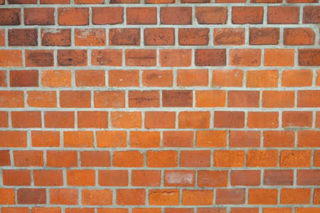 harmonic pattern of red brick wall