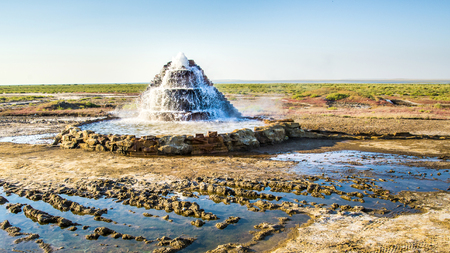 On the dried-up bottom of the Aral Sea, a radon source was discovered.
