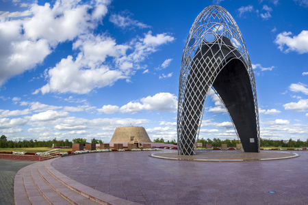 totalitarianism: Museum and memorial complex of Victims of political repressions and totalitarianism in Kazakhstan.