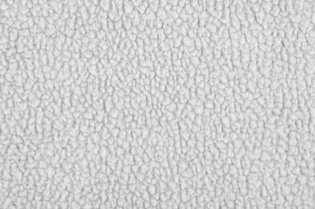 fluffy tuft: Light gray plush fleece fabric