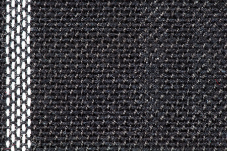 Black and white woven texture