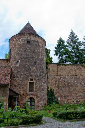 Medieval tower and wall, Zagreb, Croatia
