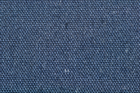 flaws: Dark blue woven cloth texture Stock Photo