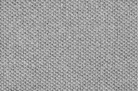 Gray woven cotton pique texture