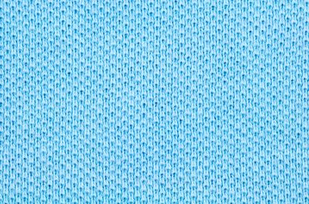 Light blue cotton pique fabric texture