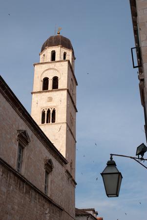 catholocism: Dominican church tower in Dubrovnik, Croatia