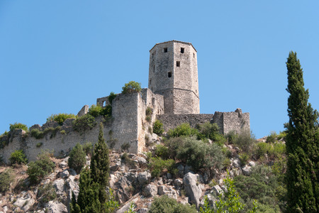 bosna: Fortificazioni di Pocitelj, Bosnia-Erzegovina