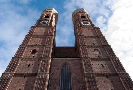 Photo of the Frauenkirche, Munich, Germany Stock Photo