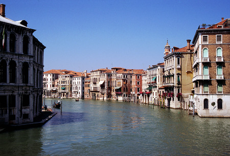 the merchant of venice: View of the Grand Canal, Venice, Italy