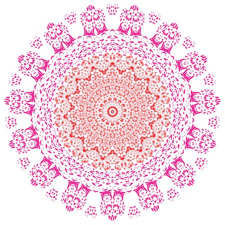 Mandala. Vintage decorative elements. Illustration