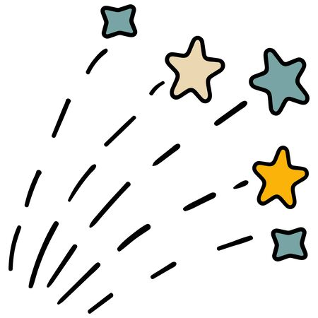 Stars illustration vector clipart. Images for stickers or website. Icon. Badge. - Vector. Vector illustration
