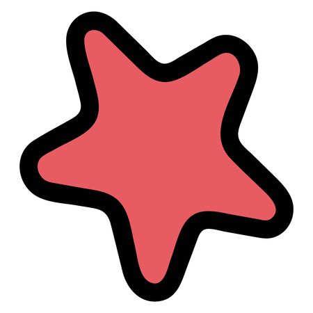 Star illustration vector clipart. Images for stickers or website. Icon. Badge. - Vector. Vector illustration Illustration