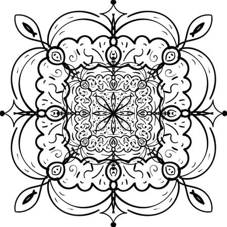 Hand drawn Vector Pattern, desing simple Decoration Art