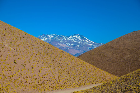 Geometric view on the colorful Andes mountains of Catamarca, Argentina