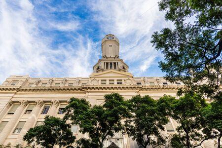 Palace of the Buenos Aires City Legislature building in Buenos Aires, Argentina Foto de archivo