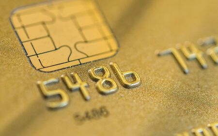 Close up of credit cards. Concept of business, finance, shopping, and commerce. Фото со стока
