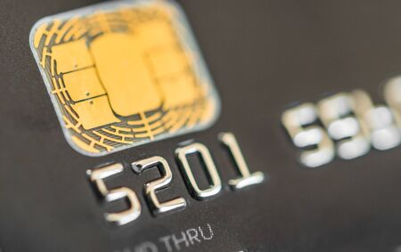 Close up of credit cards. Concept of business, finance, shopping, and commerce. Foto de archivo