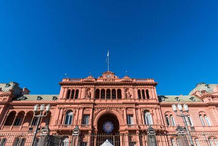 Buenos Aires, Argentina - August 25, 2018: Casa Rosada presidential palace Editorial