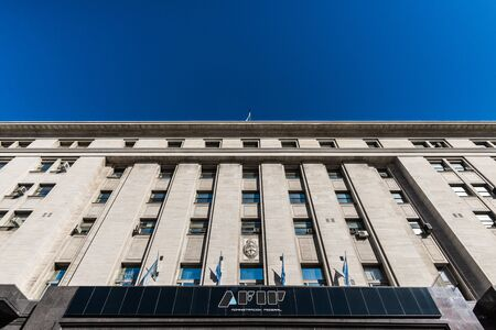 Buenos Aires, Argentina - August 25, 2018: Headquarters of AFIP tax authority Sajtókép