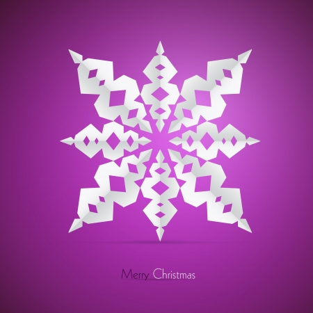 starr: Pink, Purple, Violet Abstract Vector Merry Christmas Background