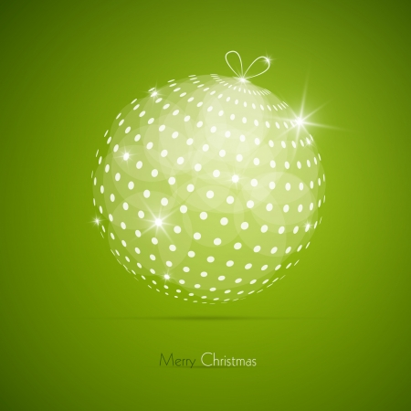 starr: Green Vector Merry Christmas Background