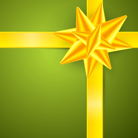 starr: Green, Gold Abstract Vector Merry Christmas Background Illustration