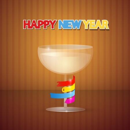 Vector Happy New Year Background Vector