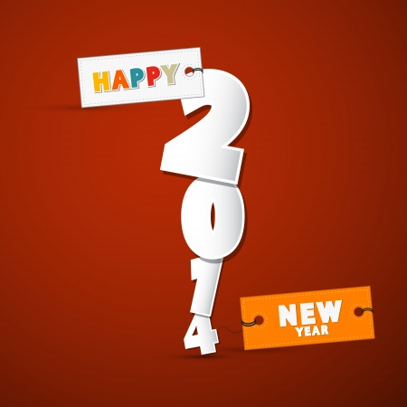 Vector Happy New Year Background Vector