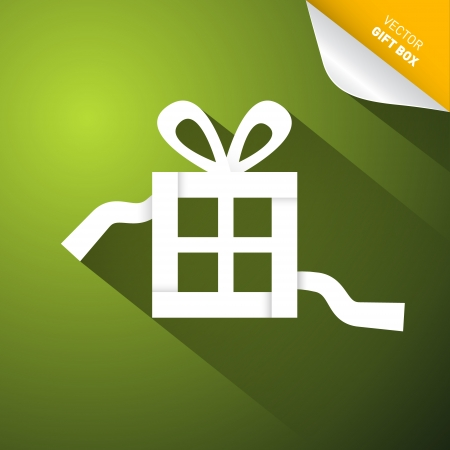 Green Abstract Vector Merry Christmas Background Vector