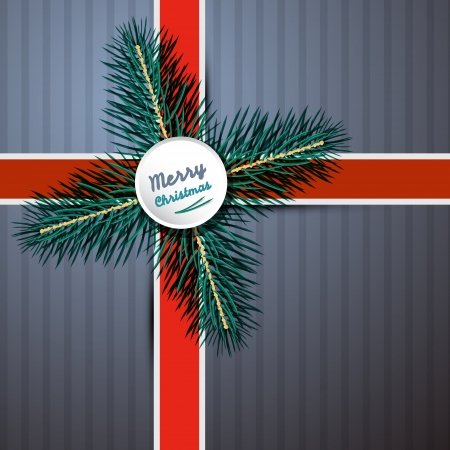 starr: Abstract Vector Merry Christmas Background