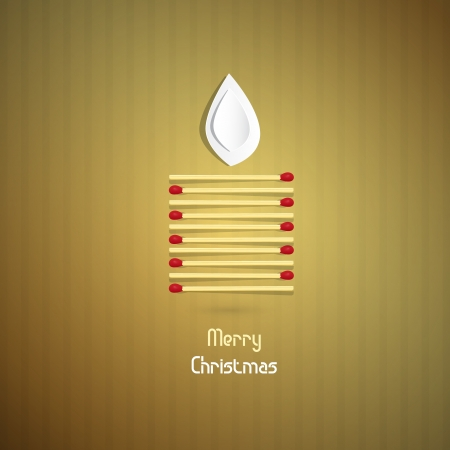 starr: Gold Abstract Vector Merry Christmas Background Illustration