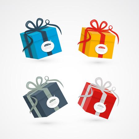 box set: Vector Present Box, Gift Box Set