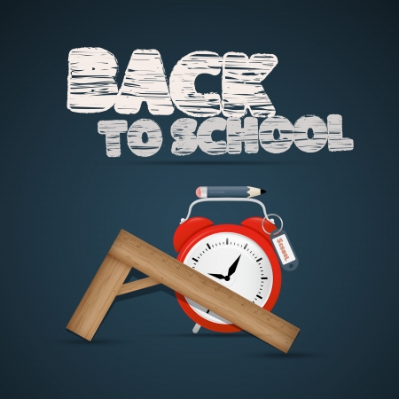 Vector Back to school theme Vector